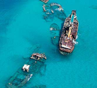Tangalooma Ship Wrecks